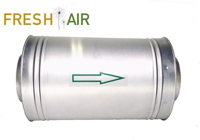 Фільтр вугільний канальний 150мм для гроубокса,вентиляції.