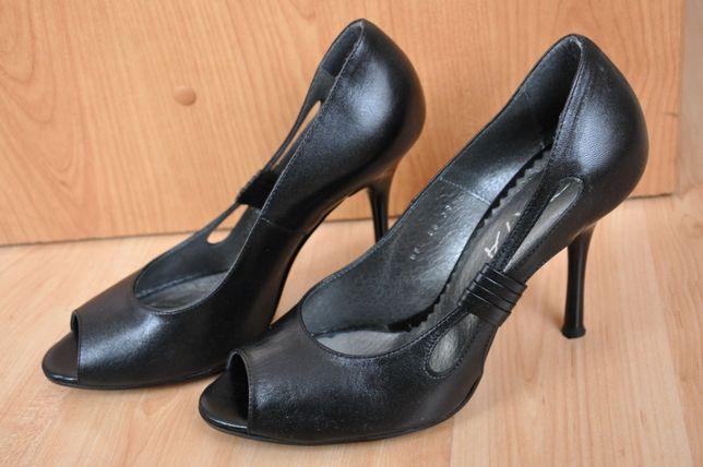 Szpilki damskie czarne rozmiar 37