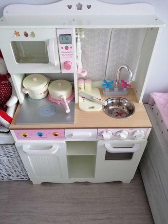 Kuchnia dla dzieci drewniana vintage