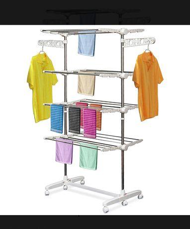 Suszarka na pranie, 4 poziomy