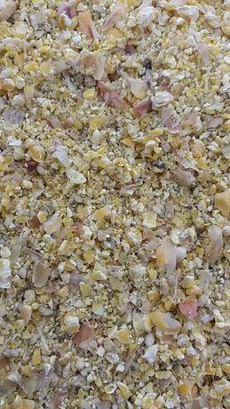 Kukurydza mokra mielona Kiszone ziarno kukurydzy gniecione   ccm mlyn