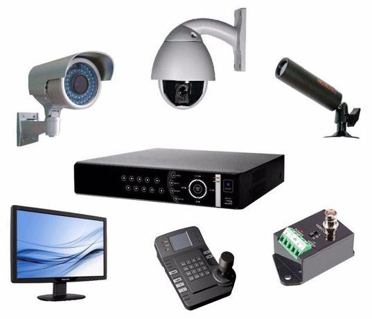 Установка систем відеоспостереження