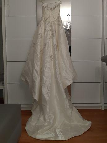 Suknie ślubne - biała 1, ecriue 2