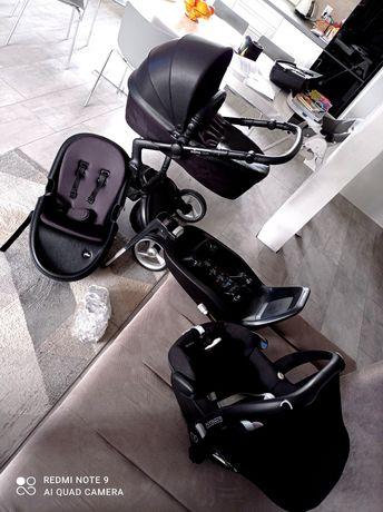 Wózek 4 w1 Mima xari czarny