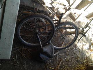 велосипед тиса розібраний