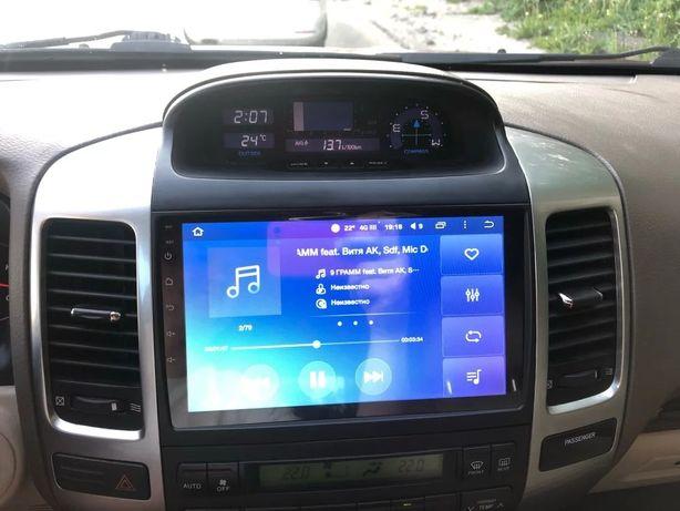 Автомагнитола Toyota prado 120 Lexus GX470 jbl или pioneer android 8