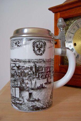 Stary kolekcjonerski rzadki kufel Kaiser Frankfurt Piękny !