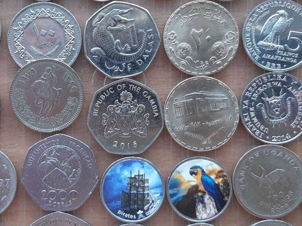 Монеты Африки. Экзотика без повторов. Все оригиналы. Набор №1+ бонус
