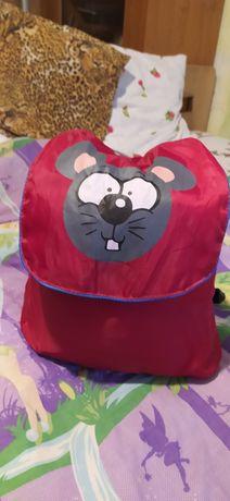 Дитячий спальний мішок мишка