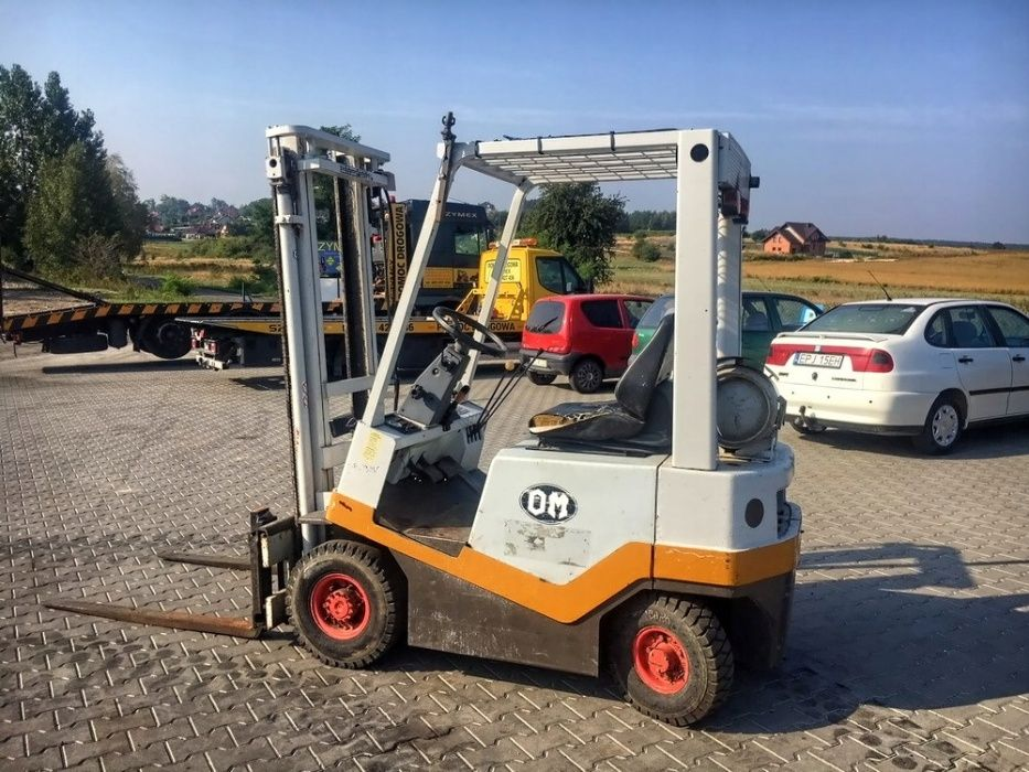 Wózek widłowy LPG FIAT OM BI-15C 1500kg 3.30m 4200mtg opony pompowane Działoszyn - image 1