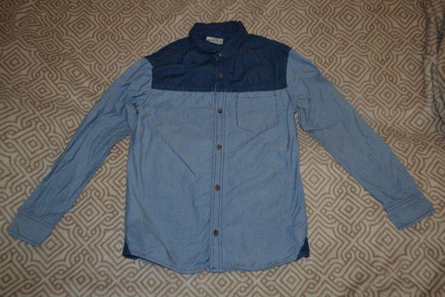 джинсовая рубашка 12-13 лет рост 158 Англия