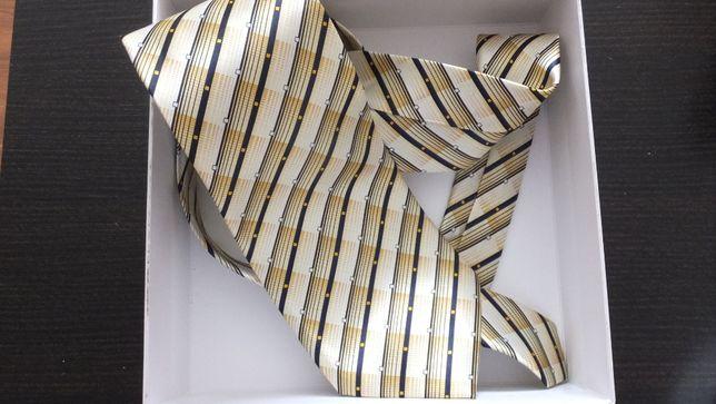 статусный стильный элегантный шелковый галстук ручной работы Xiongdi
