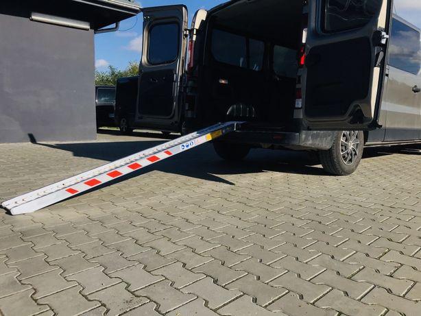 Najazd - Trap Aluminiowy / Motocykl / *do 600Kg *2.5m / TUV / F. VAT
