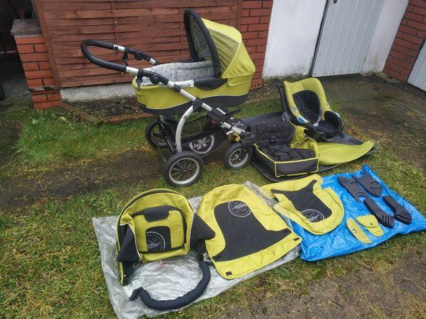Wózek Wielofunkcyjny XLander Xpra,gondola,sportówka,spacerówka,fotelik