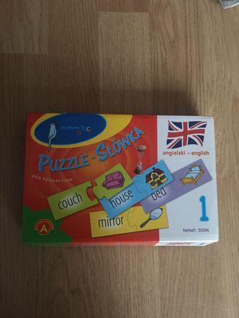 Puzzle słówka angielski DOM Alexander gra edukacyjna