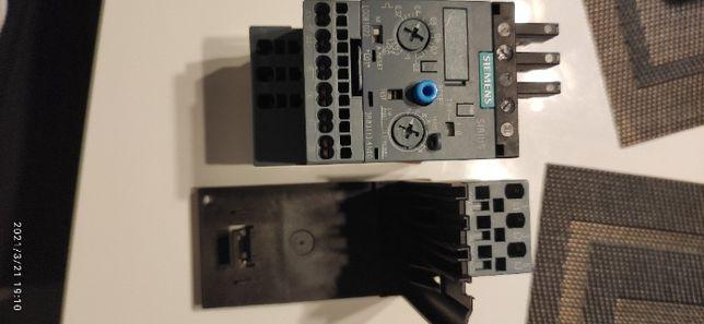 Przekaźnik przeciążeniowy Siemens 3RB3113-4NE0 + wspornik