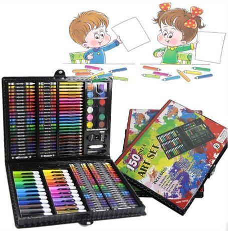 Набор для развития творчества у детей 150 предметов набор рисования