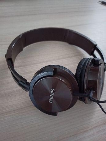 Słuchawki Nauszne Philips SHL3000 Brązowe