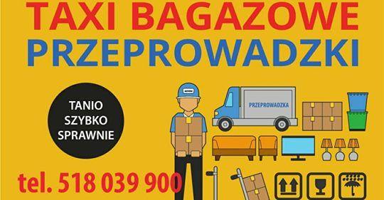 Przeprowadzki, Tani Transport Elbląg, Bagażówka, Transport Cała Polska