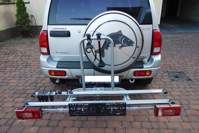 Bagażnik rowerowy na hak na 2 rowery
