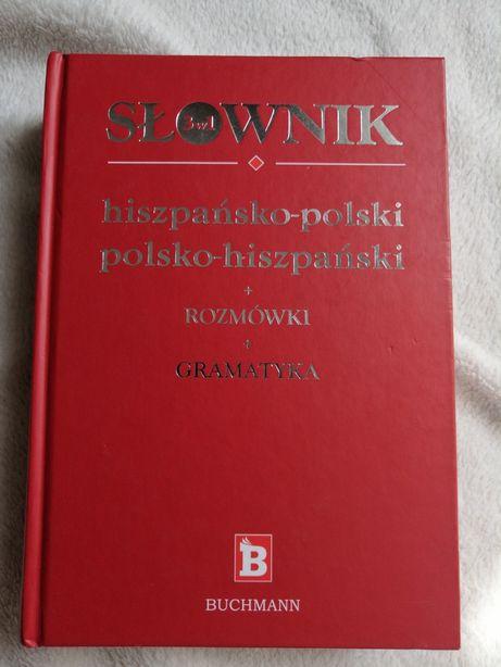 Słownik hiszpańsko polski Polsko hiszpański buchmann 3 w 1