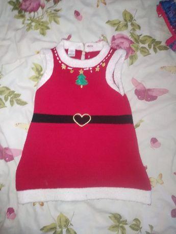 Новорічна сукня для дівчинки