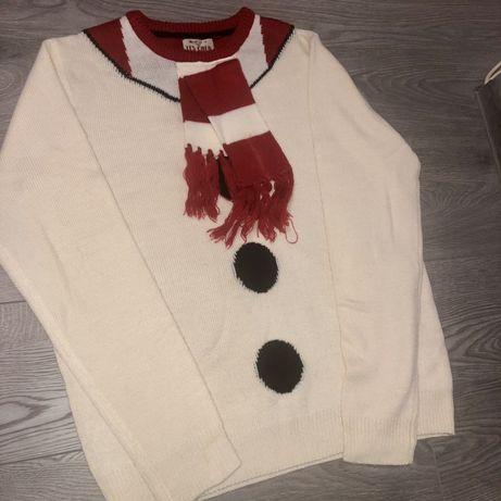 Зимний свитер новогодний