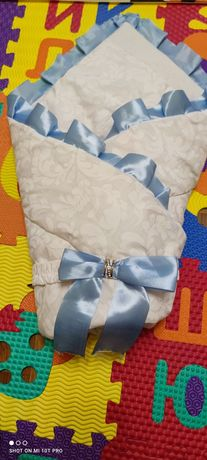Конверт одеяло для мальчика