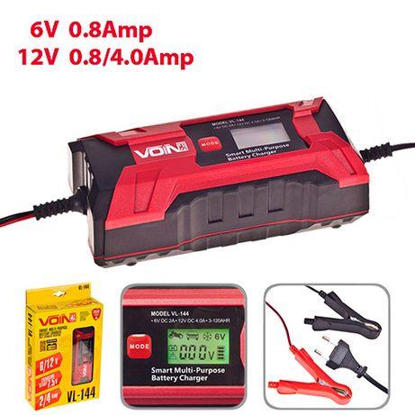 Зарядное устройство VOIN VL-144 6-12V, Импульсное