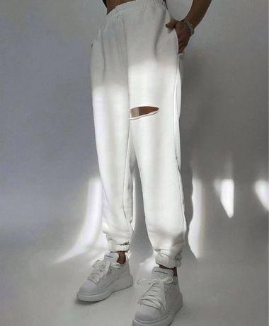 Джогеры женские, джогеры белые женские, штаны спортивные женские