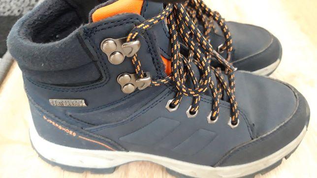 Buty zimowe chłopięce.