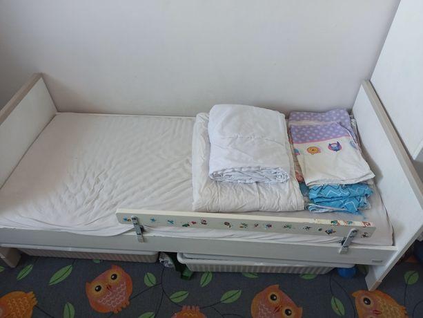 Łóżko dla dziecka drewniane Pinio 70/160