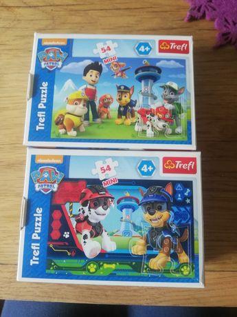 Puzzle 54 mini elementy Psi patrol