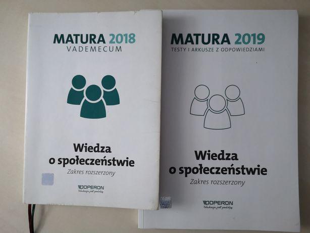 Matura - wiedza o społeczeństwie vademecum + zadania i arkusze matural