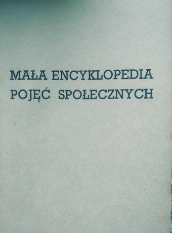 Mała encyklopedia pojęć społecznych