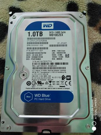 Жесткий диск WD Blue (WD10ezex)