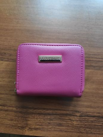 Różowy portfel acccessories