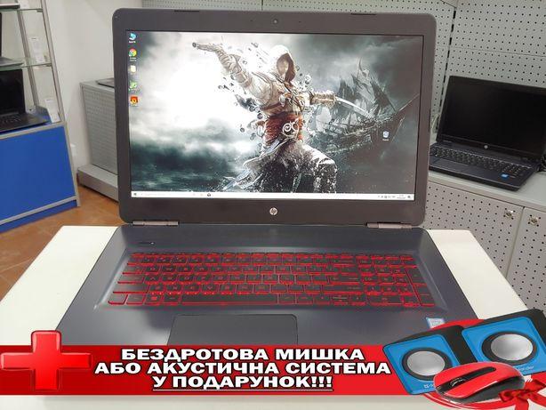 """HP Omen 17/17.3""""Full HD IPS/i7-7700HQ/16GB/SSD 128GB +1TB/GTX 1060 6GB"""