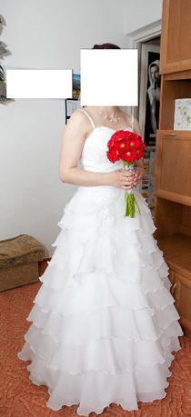 Sprzedam sukienke ślubną rozmiar 38