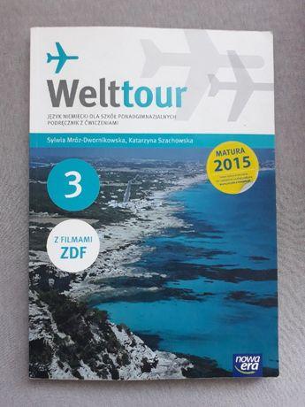 JĘZYK NIEMIECKI Welttour 2 podręcznik z ćwiczeniami MATURA