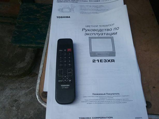"""Телевизор Toshiba  21"""" .бу в отличном состоян ,мало эксплуатировался."""