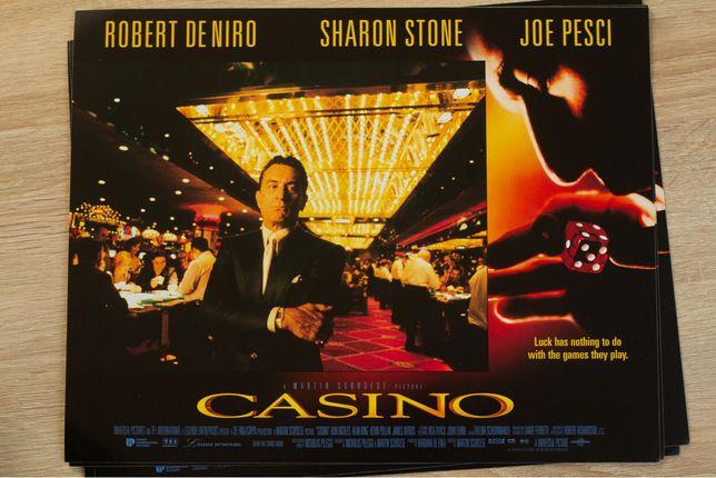 Casino  - karty promocyjne x 8 / kadry filmowe