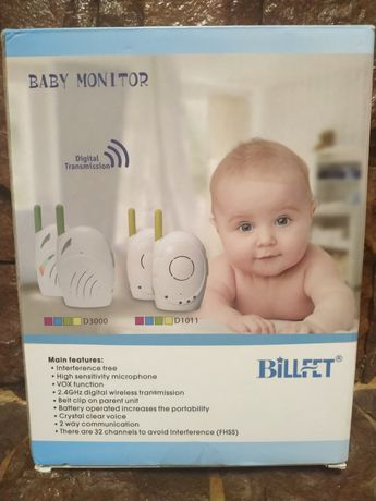 Радіоняня billfet 2.4GHz Wireless Digital Audio Baby Monitor