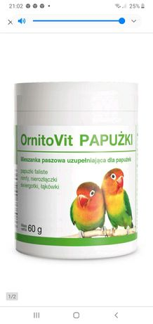 OrnitoVit Papużki 60g witaminy dla papug