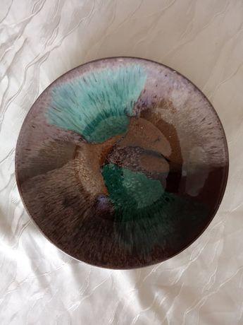 artystyczny talerz ozdobny
