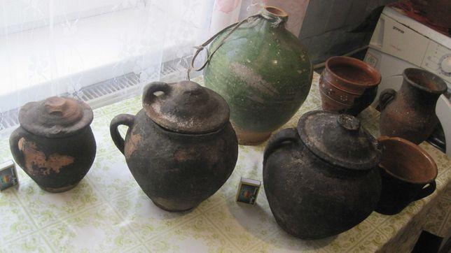 кухарські посудини давнини горшок с крышечкой стариний глечик горшочек