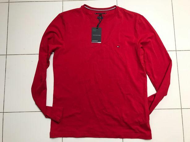 Nowy męski Tshirt z długim rękawem Tommy Hilfiger, r. XL