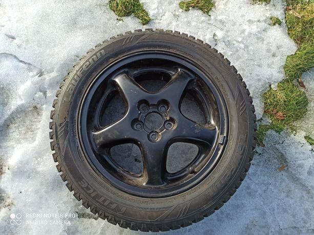 Opony zimowe z alufelgami 205/55/R16 5x100 Subaru Impreza 5x1