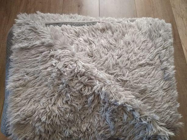 Dywan pluszowy Tapiso szary 220x160 cm