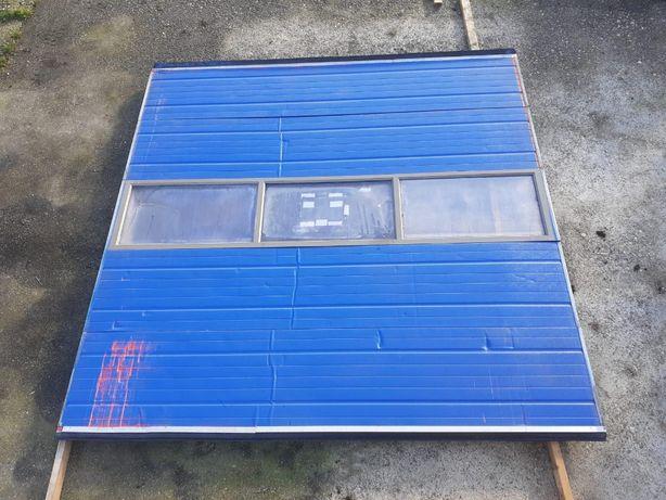 brama segmentowa panelowa elektryczna garazowa przemyslowa 3,05 x 3,00